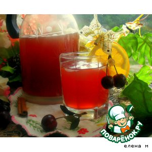 """Рецепт Холодный фруктовый чай """"Альтернатива"""""""