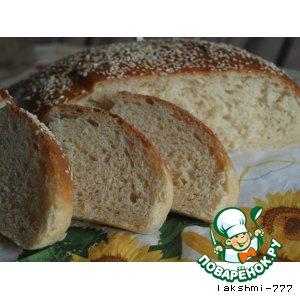 Рецепт Молочный хлеб