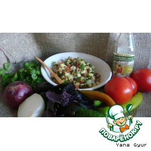 Рецепт Турецкий салат с аджикой