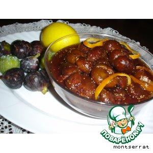 Рецепт Варенье из инжира с лимоном