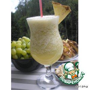 Рецепт Виноградный смузи с зеленым чаем