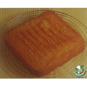 """Рецепт Основа для именинного торта и """"помадка"""""""