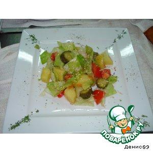 Рецепт Деревенский салат