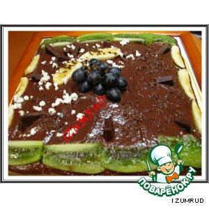 """Рецепт Торт """"Шоколадно-банановый"""""""