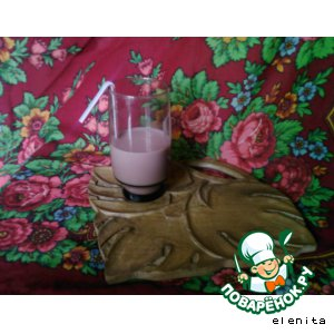 Рецепт Вишнeво-яблочный коктейль