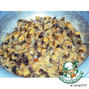 Рецепт Баклажаны-грибы