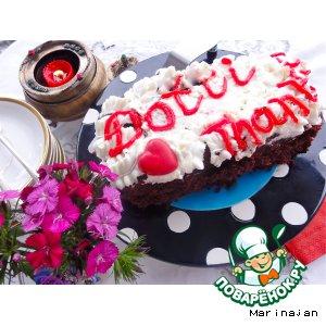 Рецепт Бисквитный тортик для Дотти