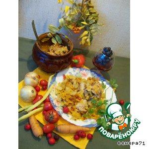 Рецепт Мясные рулеты с овощами