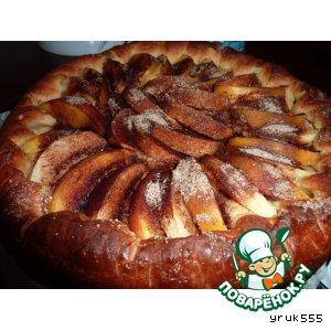 Рецепт Пирог с яблоками и корицей