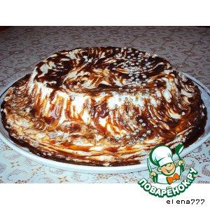"""Рецепт Пряный яблочный торт """"Космическое безумие"""""""