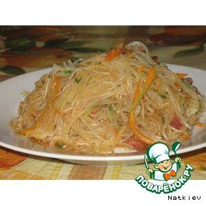Рецепт Салат из фунчозы