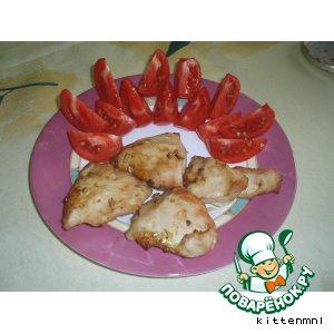 Рецепт Сочное куриное филе в аэрогриле