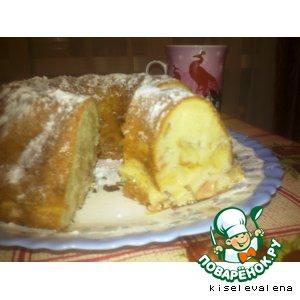 Рецепт Яблочный пирог в аэрогриле