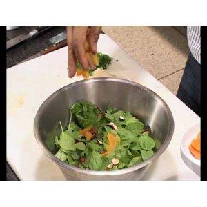Рецепт Микс-салат с перепелками