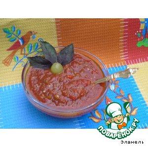 Рецепт Баклажанный соус к мясу