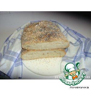 Рецепт Хлеб без замеса (No-Knead Bread)