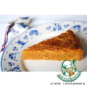 Рецепт Голландская масляная коврижка Boterkoek