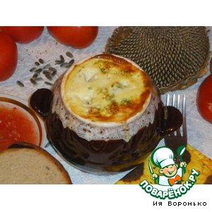Рецепт Капуста с фаршем в омлете