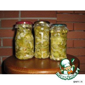 простой рецепт салата из зеленых помидоров