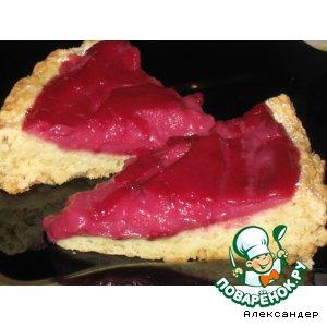 Рецепт Пирог с вишневым заварным кремом