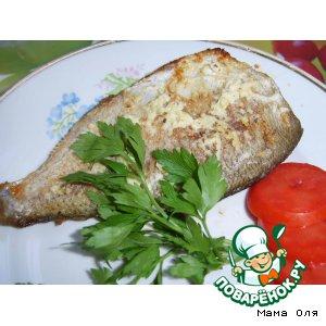 Рецепт Рыба с чесноком