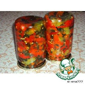 Рецепт Горький перец  по-кавказски