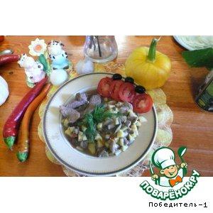 Рецепт Говядина с осенними овощами