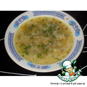 """Рецепт Суп """"Снежок"""""""