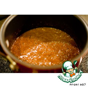 Рецепт Томатно-мятная подлива