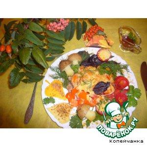Рецепт Осенняя карусель