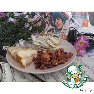 Рецепт Карамелизованные орехи с чили