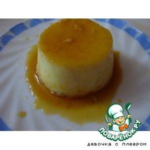 Рецепт Сливочное суфле с карамелью