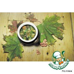 Рецепт Овощная икра с фрикадельками