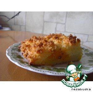 Рецепт Творожно-кокосовый пирог