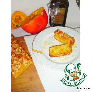Рецепт Тыквенно-миндальный кекс