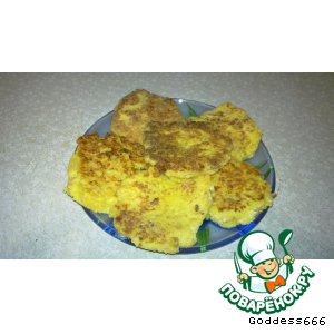 Рецепт Оладьи из кукурузной крупы