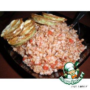 Рецепт Гречневая каша с помидорами
