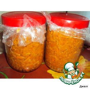 Рецепт Морковка на зиму