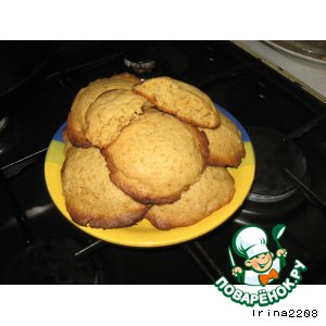 Рецепт Пряное ореховое печенье на жженом сахаре