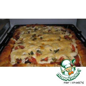 Пицца рецепт приготовления с фотографиями пошагово как готовить