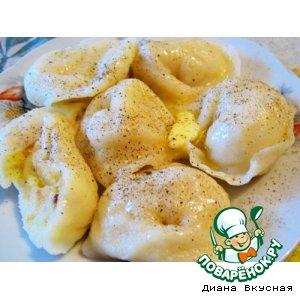 Рецепт Вареники постные картофельные