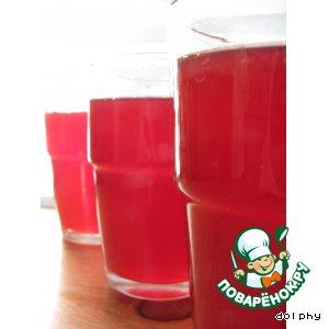Рецепт Теплый безалкогольный яблочно-клюквенный сидр