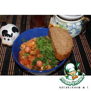 Рецепт Капустная соляночка с мясом