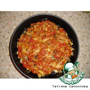 Рецепт Баклажаны под помидорным соусом и сыром