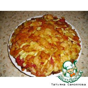 Рецепт Картофельная лепешка с кабачками