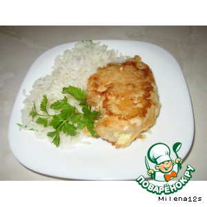 Рецепт Куриная грудка с сырным кармашком