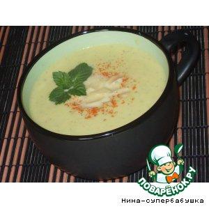 Рецепт Мятный суп-крем с цветной капустой