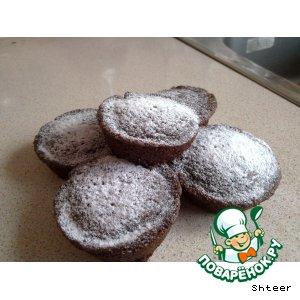 Рецепт Шоколадные кексы с кабачком