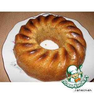 Рецепт Кекс с халвой