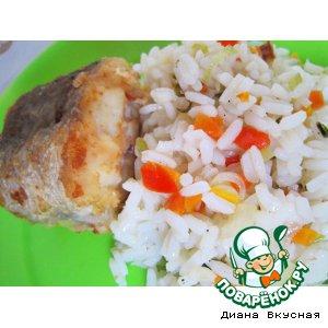 Рецепт Рисовый гарнир к рыбе